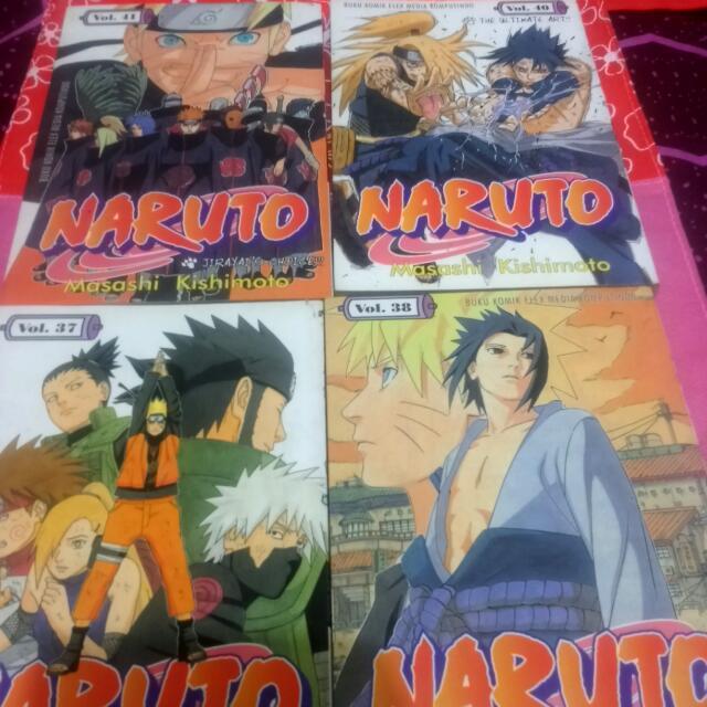 Take All Komik Naruto