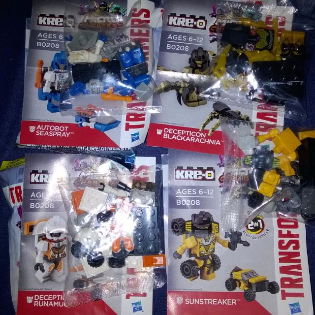 Kre-O Transformer: Age Of Extinction Season 2 (Lot For Sale)