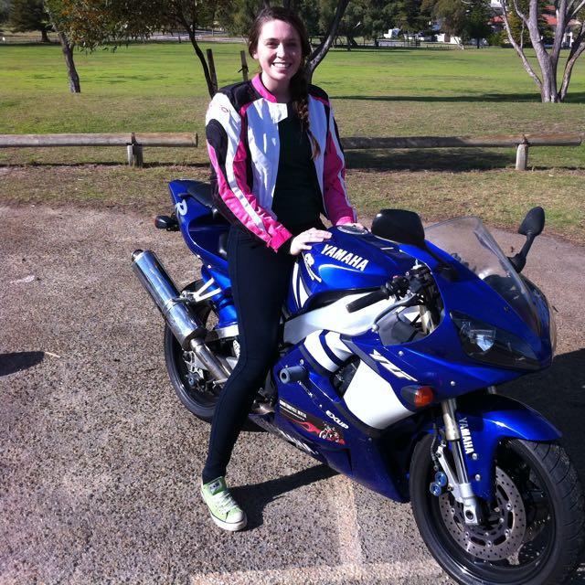 Ladies Teknic Supervent Motorcycle Jacket