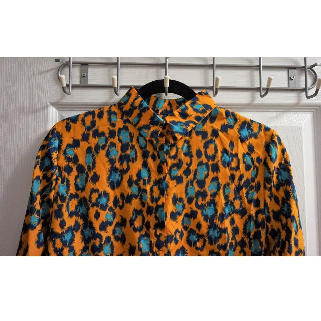 Leopard Print Patterned Blouse (Size M)