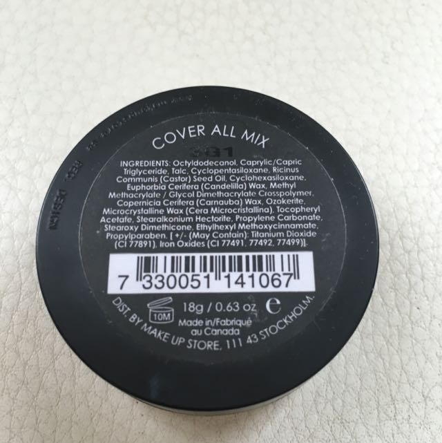 Make Up Store Cover All Mix Corrector