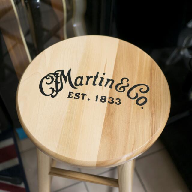 Martin原廠實木吉他彈奏專用椅