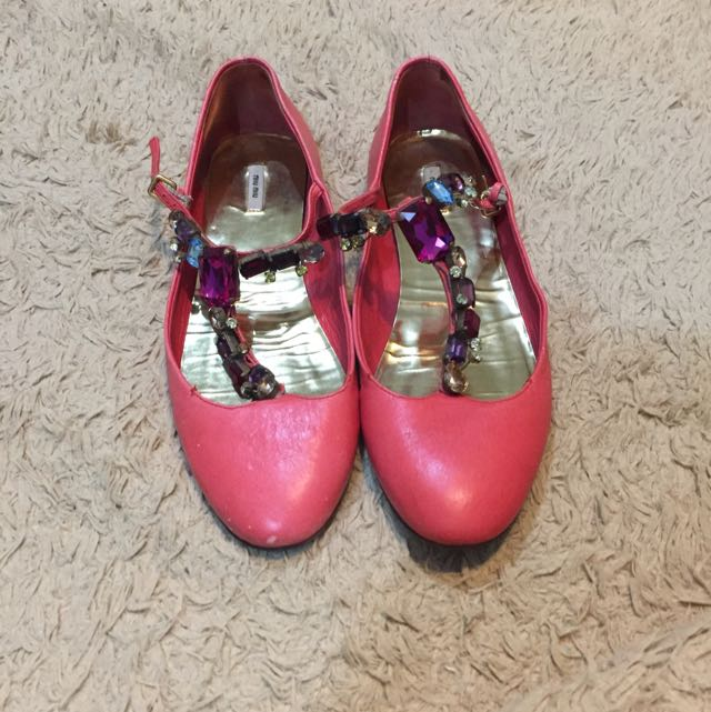 Miu Miu Flat Shoes (Authentic)