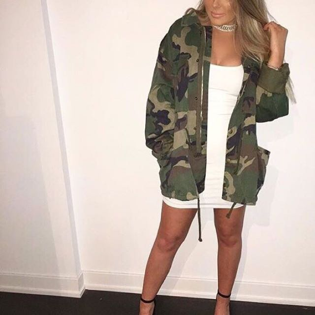 (NEGOTIABLE) Mendocino Camouflage Anorak Jacket
