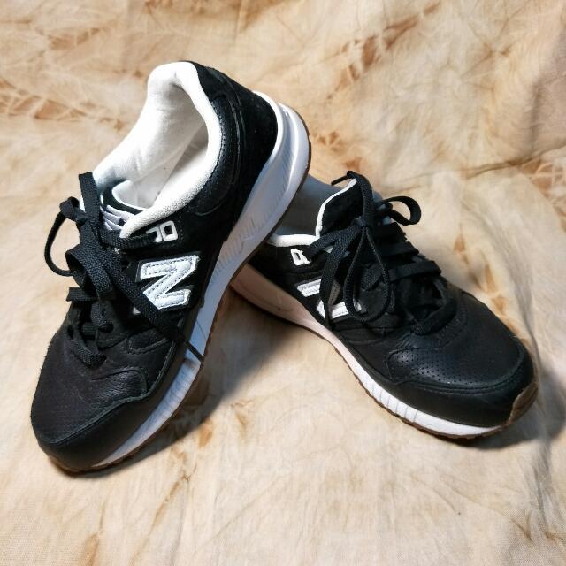 🍏New Balance / NB 530 皮革麂皮 慢跑鞋(Size:23.5)#運費我來出
