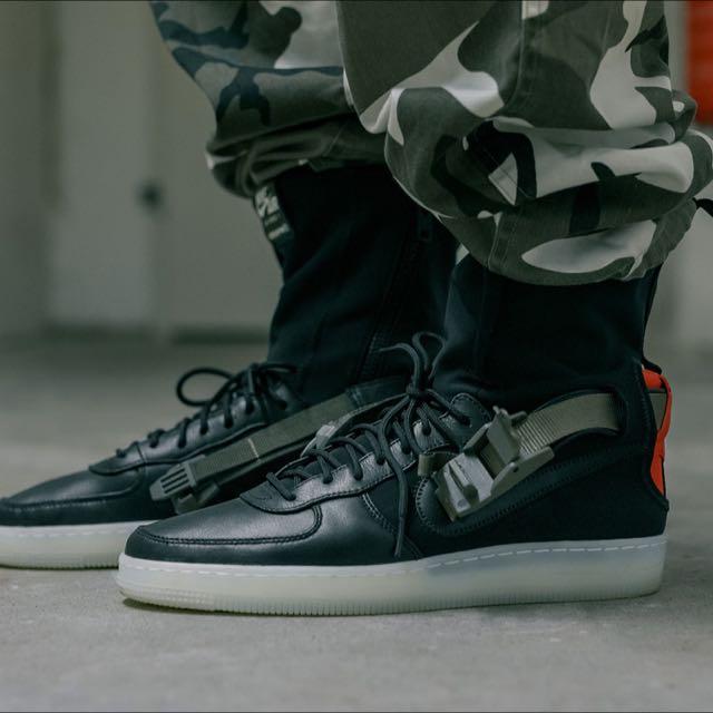 sale retailer 088f9 4c1d6 Nikelab Acronym Nike Air Force 1 Downtown HI SP US10.5, Mens Fashion,  Footwear on Carousell
