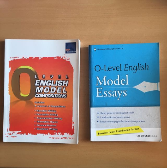 o level english model essay books books  stationery textbooks on  photo photo