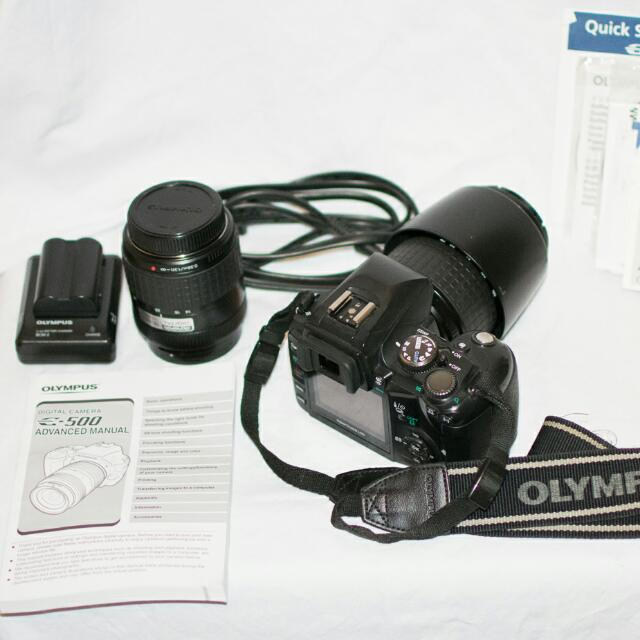 Olympus EVOLT E-500 DSLR 8MP