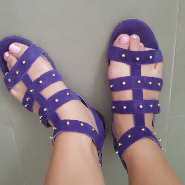 Perfect Purple Sandal