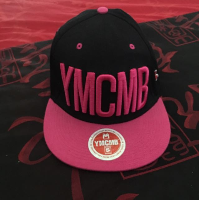 Pink YMCMB Hat