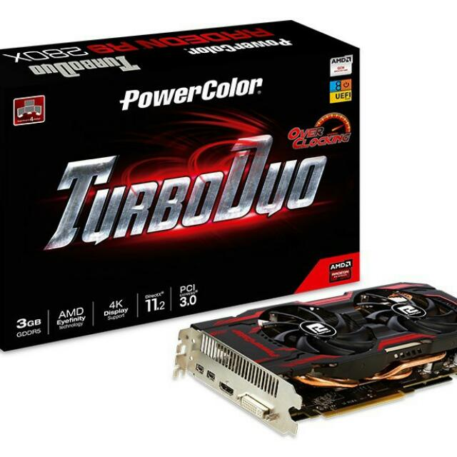 Powercolor R9 280x 3gb Video Card