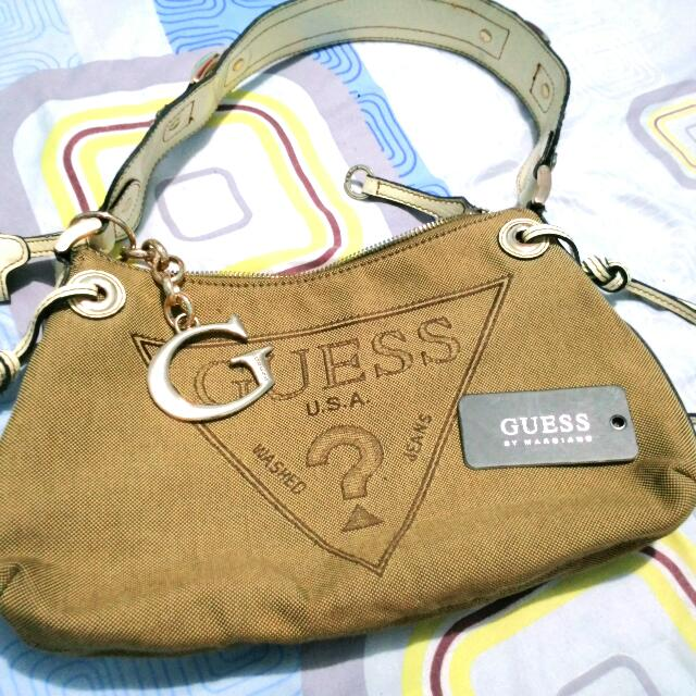 PRE - OWNED Guess Small Handbag