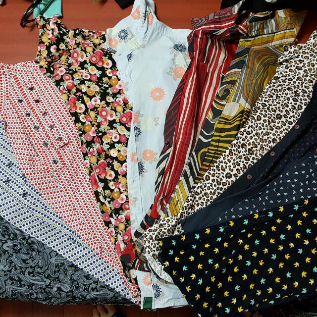 韓版跟PS的花系列襯衫