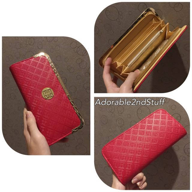 Red-Gold Wallet