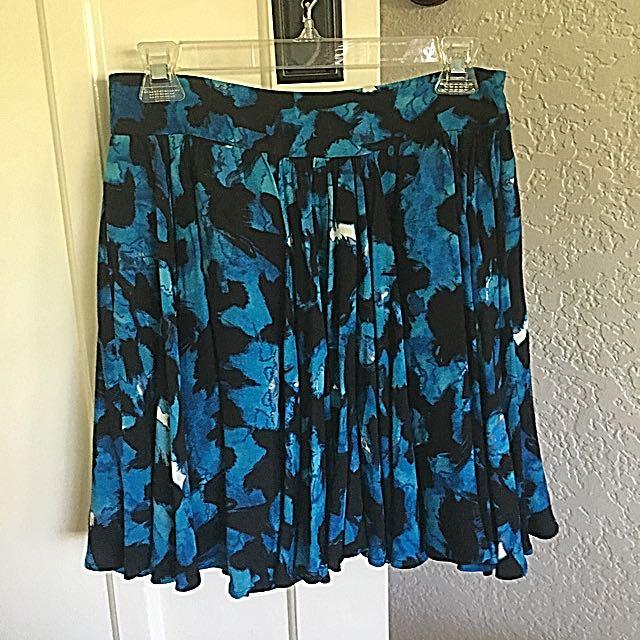 Reiss Floral Skater Skirt
