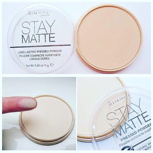 Rimmel Stay Matte Press Powder