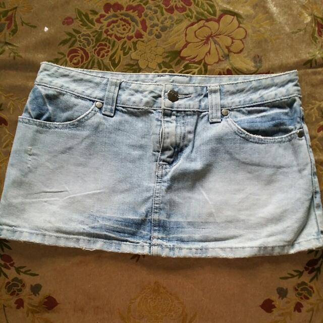 Rusty Jeans Skirt