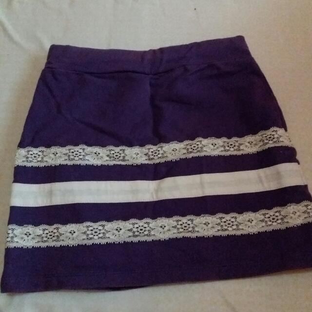 Sexy Violet Skirt