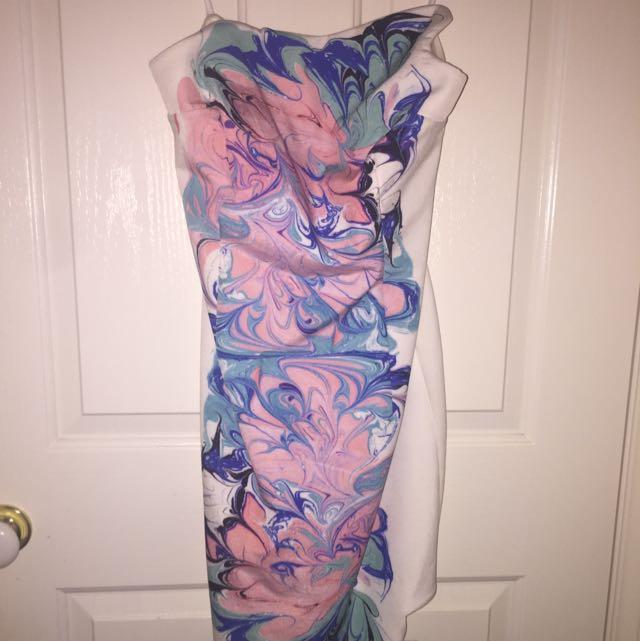 Sheike Strapless Cocktail Dress - Size 12