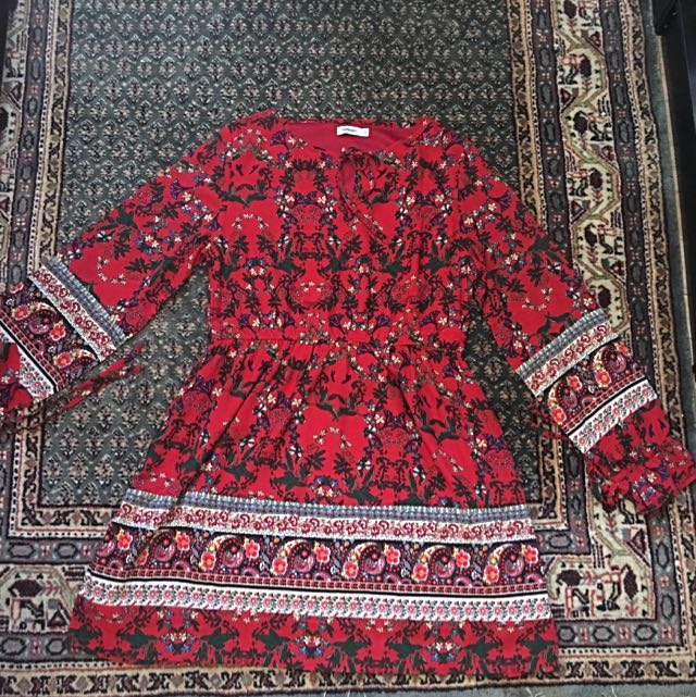 Size 12 Valleygirl Red Dress