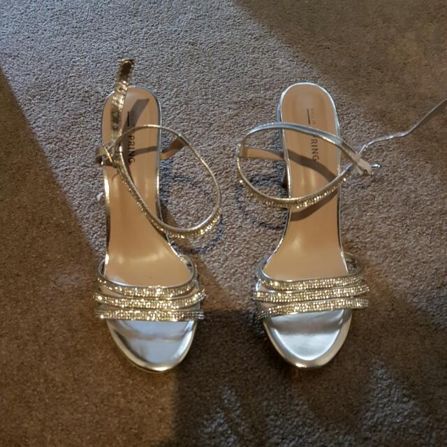 Size 8.5.  Spring Shoes.