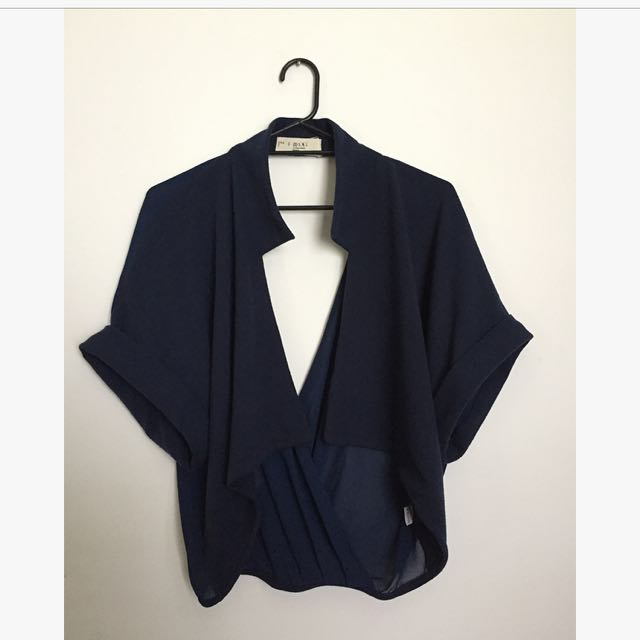 S.M.L Navy Blue Cardigan