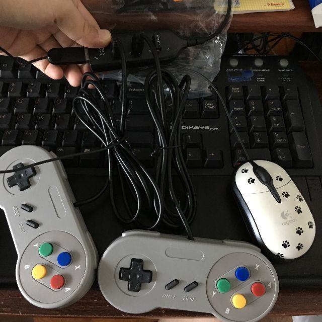 SNES Emulator USB Gaming Controllers Set $10/pc