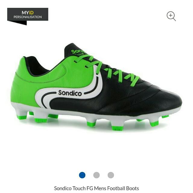 bc2bce74262617 Sondico K Leather Size UK 10 US 11 Boots, Sports, Sports & Games ...