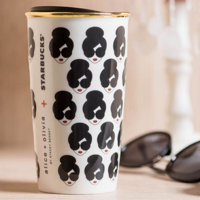 Starbucks×alice+olivia 雙層隨行杯