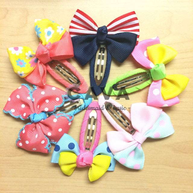 Super Cute Hair Clips Pretty Hairclip Jepit Rambut Pita Rambut Korea High Quality