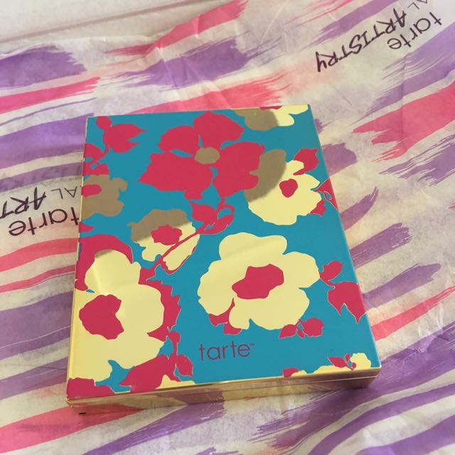 Tarte Limited Edition Pallets