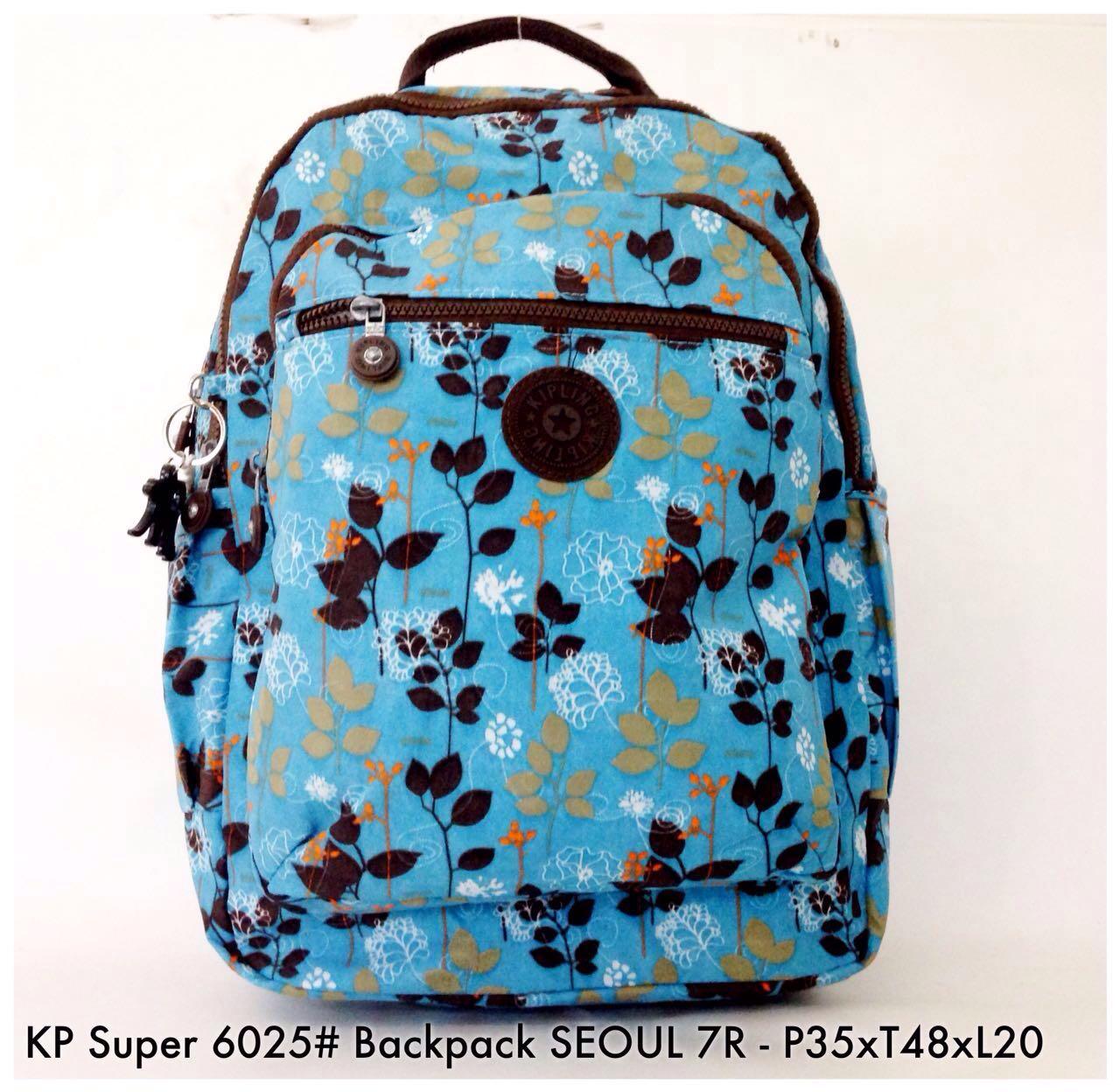 Tas Ransel Kipling Original Seoul Gold Spec Dan Daftar Harga Wanita Import Backpack  6025 8 Fesyen 32950faa53