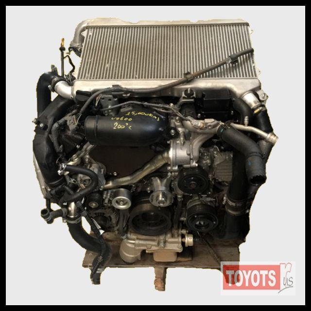 Toyota Landcruiser 200 Series V8 4 5 Twin Turbo Diesel Engine Change