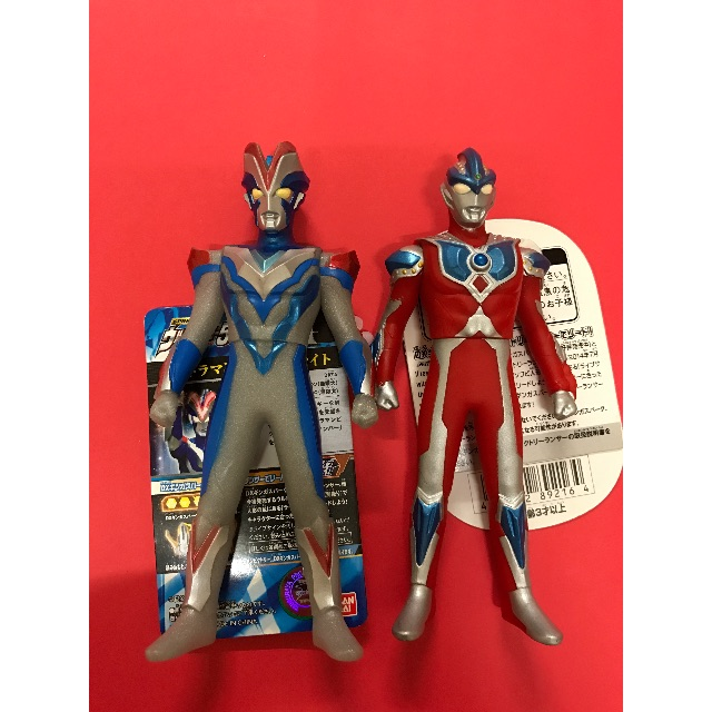 Ultraman Victory + Ultraman Ginga Ultra Hero 500, Toys & Games, Other Toys on Carousell