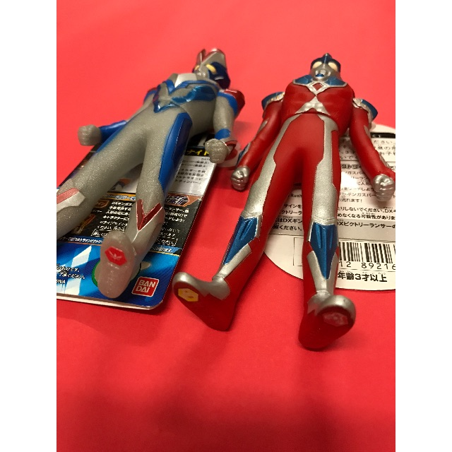 Ultraman Victory + Ultraman Ginga Ultra Hero 500, Toys & Games, Toys on Carousell