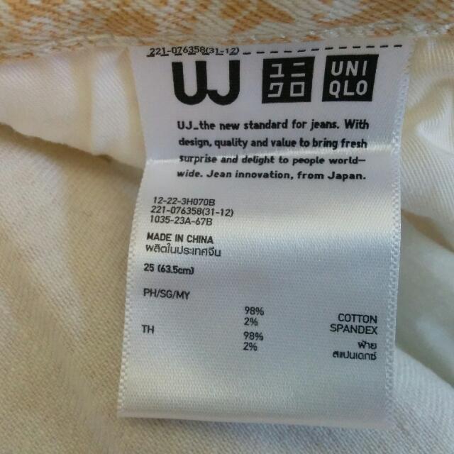 Uniqlo Printed Jeans