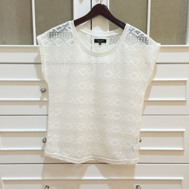 White New Look Top