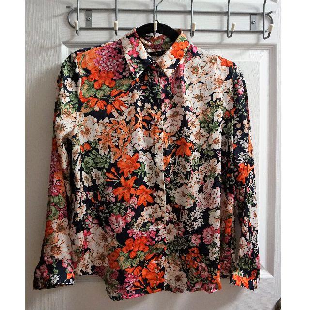 ZARA Floral Blouse (Size M)