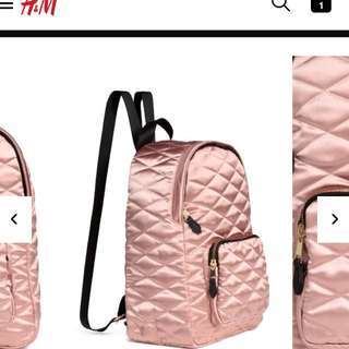H&M Quilted Backpack