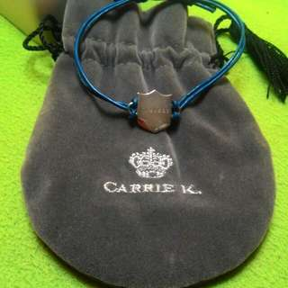 Carrie K. leather Wristband