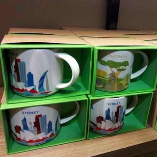 Starbucks Australia Mugs