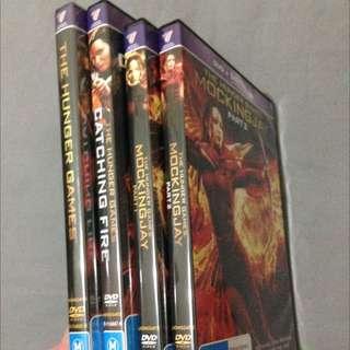 The Hunger Games DVD Set