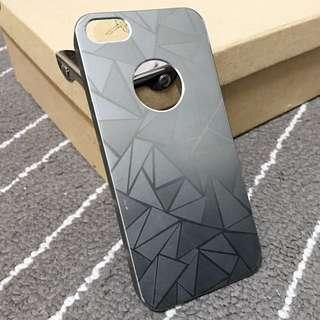 Iphone 5 手機殼 銀色