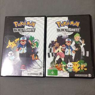 Pokemon DVD Black And White - Version 1 And 2