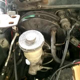 Honda Double Layer Brake Servo + Master Pump