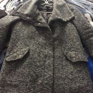 MARKED DOWN-F21 Grey Coat
