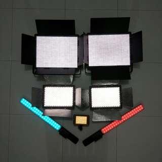 LED $10++ LED Light SABRE PACKAGE!! (Yongnuo YN, NANGUANG)