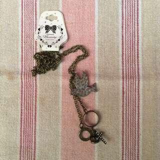 立體銅製項鍊