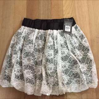 NEW WITH TAG 300rb LEBIH mini Skirt Lace