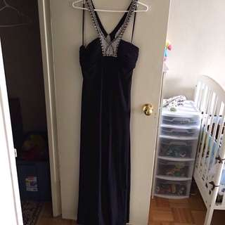 Beautiful Black Evening Dress